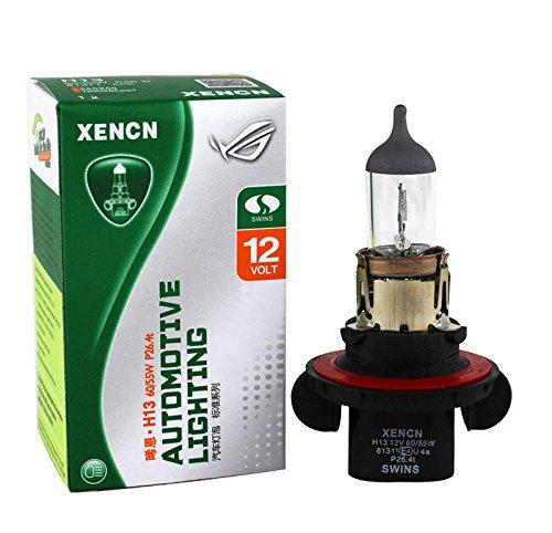 Xencn H13 9008 12v 60/55w 3200k OEM Standard Car Headlight Bulbs, (Pack of 2)