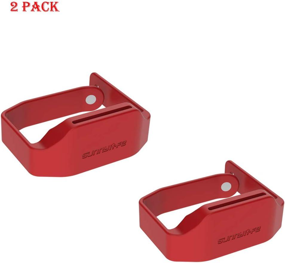 Red+Black RC GearPro Mavic Mini Propeller Clip Propeller Holder Silicone Prop Blades Protective Case for DJI Mavic Mini