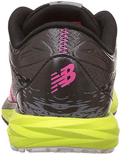 New Balance Dames Wstro Hardloopschoen Zwart / Grijs / Limoen Glow
