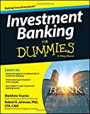 Investment Banking For Dummies.
