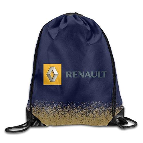 renault-auto-racing-waterproof-nylon-drawstring-bag