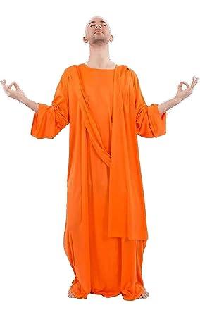 Disfraz para Adulto de Monje budista: Amazon.es: Juguetes y ...