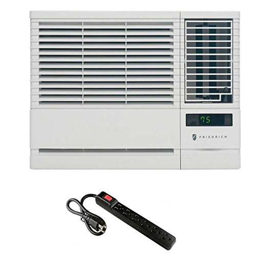 Friedrich Chill Room Air Conditioner + Top Brand 6 Outlet 300J Surge Protector
