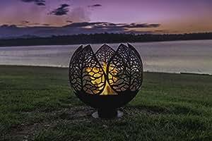 Fire Pit Sphere - Fern Valley