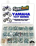 Specbolt Fasteners 250pc Maintenance Restoration OE Spec Motorcycle Bolt Kit for Yamaha YZF 250 400 426 450