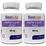 Cheap Alpha Lipoic Acid 300mg (240 Capsules) (2-Pack) No Stearate – No Flow Agents