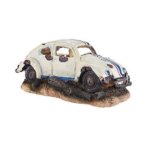 Decdeal Imitation Car Ornament for Air Bubble Stone Oxygen Pump Aquarium Fish Tank -