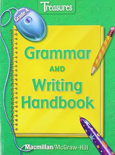 Treasures, Grade 4: Grammar and Writing Handbook