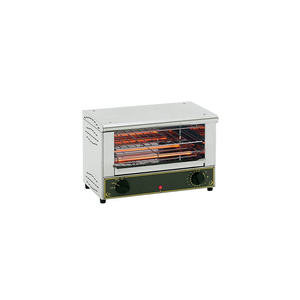 Equipex BAR-100/1 Sodir 18-Inch Single Shelf Grill Toaster Oven, Stainless Steel, 120V