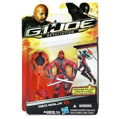 G.I. Joe Retaliation - Red Ninja Figure: Toys & Games
