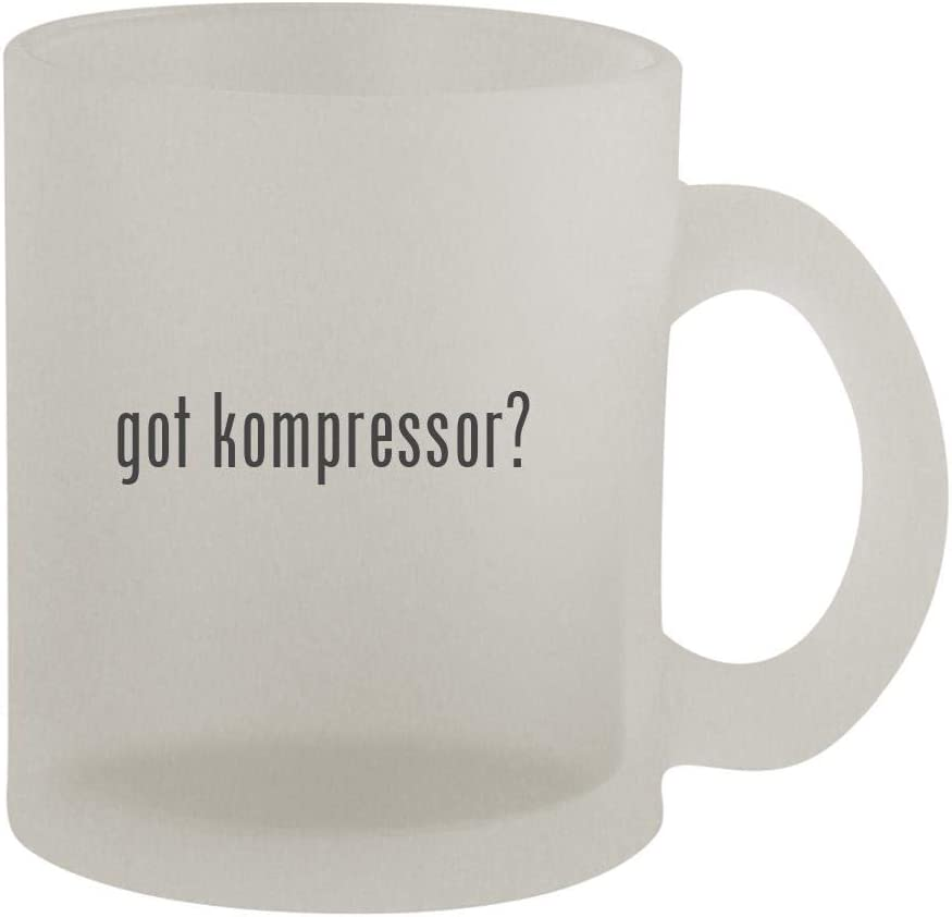 got kompressor? - 10oz Frosted Coffee Mug Cup, Frosted