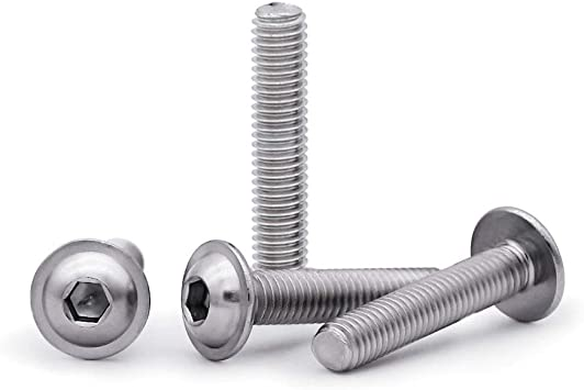 Machine screws with nuts M5 x 70 pack of 25 countersunk slot bolt bolts screw