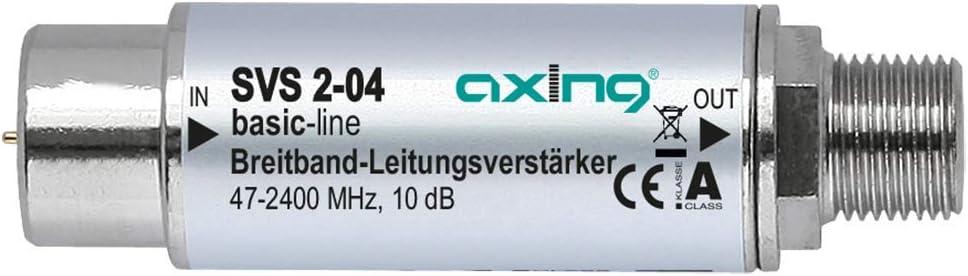 Axing Svs 2 04 Satelliten Leitungsverstärker Inline Elektronik
