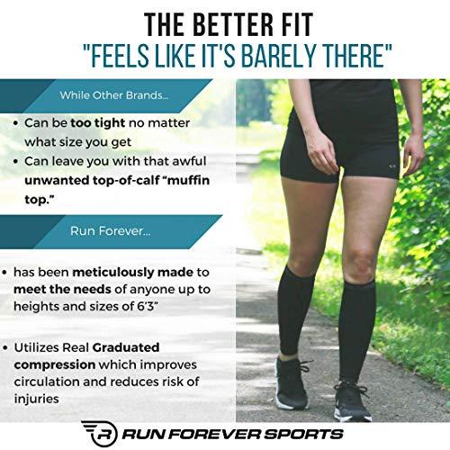 d362070b3e Calf Compression Sleeve - Leg Compression Socks for Shin Splint, Calf Pain  Relief - Men