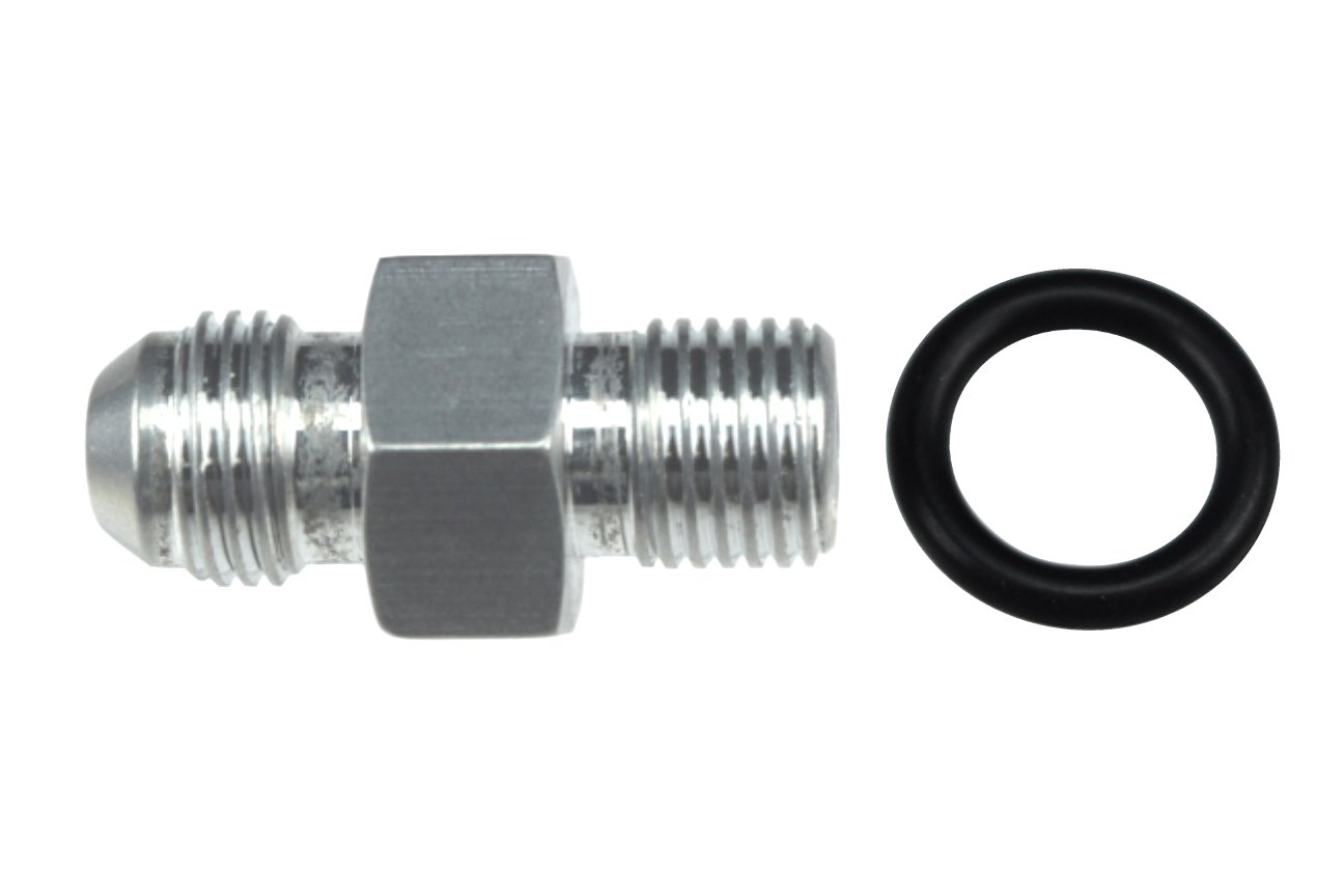 AN710-06A ICT Billet Transmission Adapter Fitting 6AN Flare 6 AN TH400 TH350 4l60e 4l80e 700r4 Bare