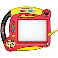 Disney 迪士尼米奇儿童画板彩色磁性画画板儿童写字板工具男孩女孩DS-1590