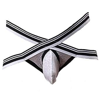 bae76e7f6e Barsty Men s Thong G-string Sexy Mesh Men s Taste Men s Underwear M ...
