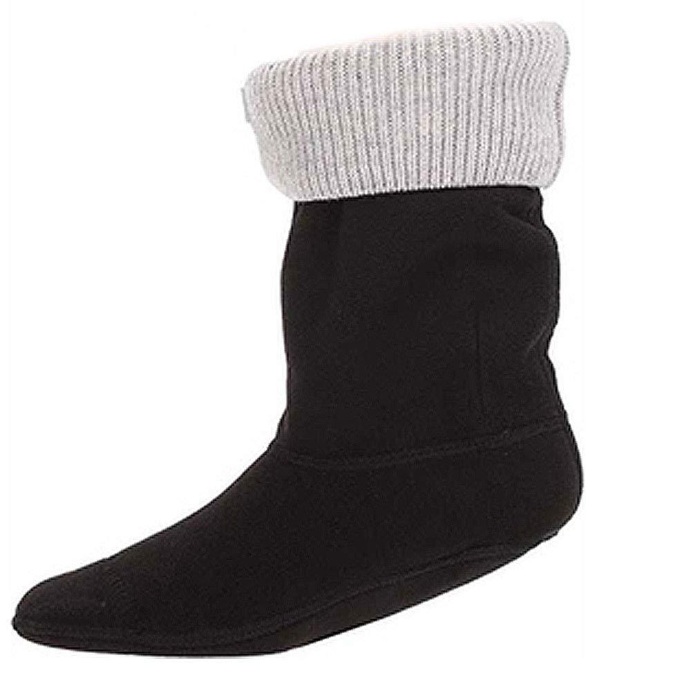 Hunter Original Short Stiefel Socks Rib Cuff grau marl