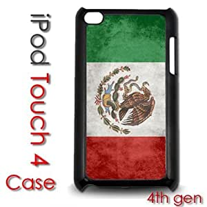 Diy For Iphone 5/5s Case Cover Plastic Case - Distressed Mexico Flag