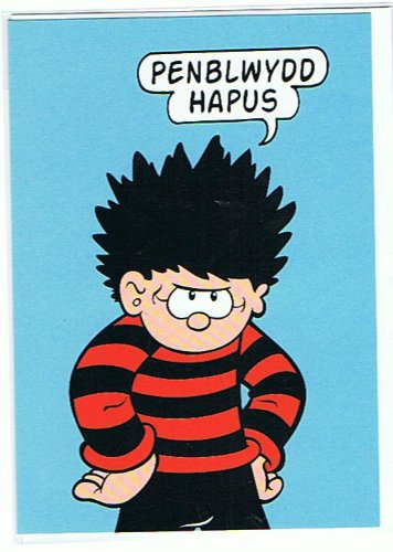 Beano penblwydd hapus dennis the menace welsh happy birthday beano penblwydd hapus dennis the menace welsh happy birthday greetings card wbd6 m4hsunfo Images