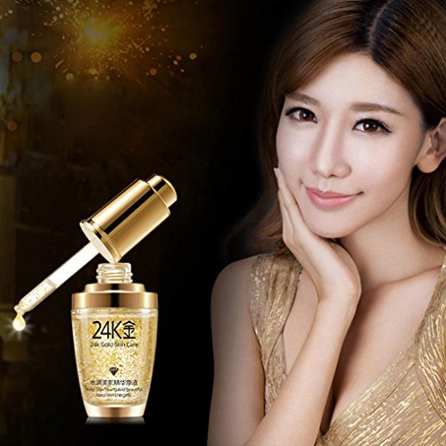 Collagen Essence Full Face Facial Mask , Fheaven GOLD Collagen Against Aging Wrinkle Remove Liquid Face Cream