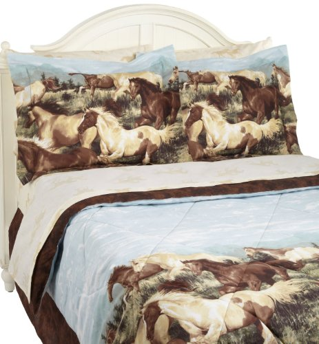 - PDK Regency Thunder Run Complete Bed Set, Queen