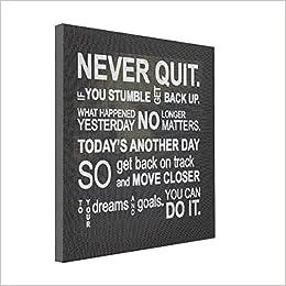 SthAmazing Motivational Words Canvas Wrap Prints Motivation Canvas - Motivational words of the day