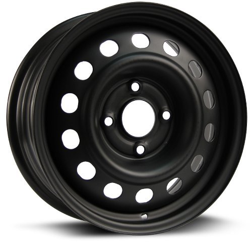 Steel Rim 15X6, 4X114.3, 66.1, +45, black finish (MULTI APPLICATION FITMENT) X40619