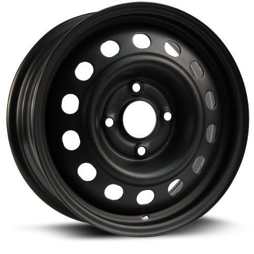 Steel Rim 15X6, 4X114.3, 66.1, +45, black finish (MULTI APPLICATION FITMENT) X40619