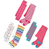 Angelina 3-Pack Girls Winter Tights and Mix-Match Leg/Arm Warmer Set #0032