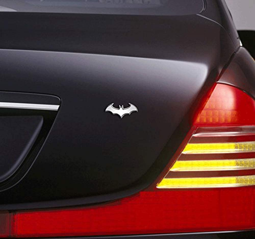 Bat Car Stickers and Decals Badge Decoration Decal Motorcycle Car Styling BOLLAER 3D Metal Batman Car Stickers Emblem