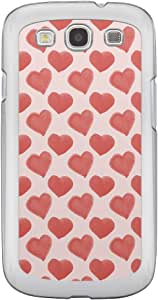 Loud Universe Samsung Galaxy S3 Love Valentine Printing Files A Valentine 85 Printed Transparent Edge Case - Pink