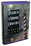 Death in a Strange Country, Donna Leon, 0060170085