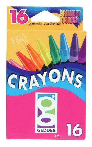 Geddes 16ct Crayons - Set of ()