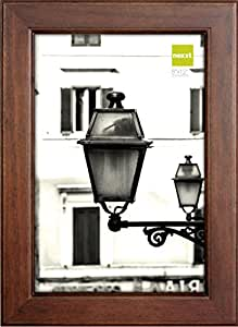 nexxt Oliver Wood Picture Frame, 8 by 12-Inch, Walnut
