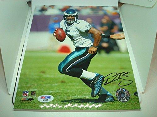 Autographed Donovan McNabb Photograph - 8x10 COA 1A - PSA/DNA Certified - Autographed NFL -