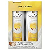 Body Wash Olay Olay Ultra Moisture Body Wash with Shea Butter for Extra-Dry, Dry, Dull or Rough Skin - 16 Fl Oz, Pack of 2