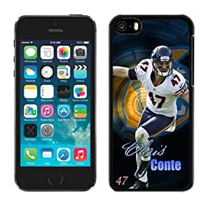 Customized Iphone 5c Case NFL Chicago Bears Chris Conte Team Member Moblie Phone Sports Protective Covers