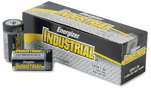 12 C // Total of 24 Each Energizer : Industrial Alkaline Batteries 12 Batteries per Box -:- Sold as 2 Packs of