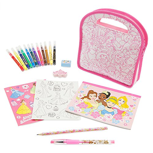 Disney Princess Stationery Set with Carrying Case 466026242945 (Art Disney Desk Princess)