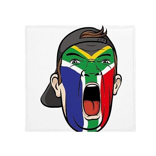 Bandera de Sudáfrica Facial Maquillaje Cap antideslizante ...