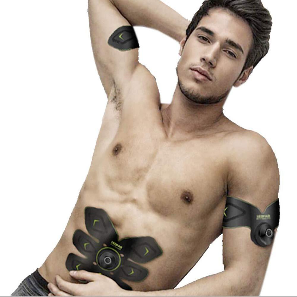 Hlidpu Intelligenter Bauch Aufkleber Aufladen Muskel Trainer Kontrolle EMS Bauch Instrument Faule Bauch Bauchgerät