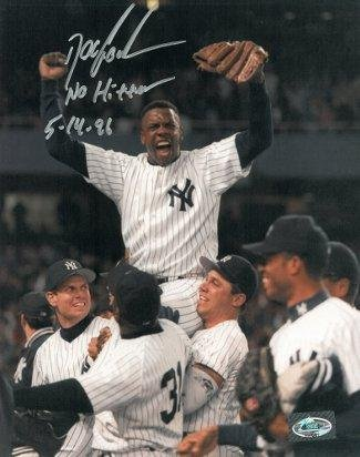 Dwight Gooden Signed Photo - 8x10 No Hitter 5 14 96 - Autographed MLB Photos