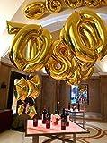 Helium-Foil-Digital-balloons-birthday-holidays-weddin-party-supply-Golden-40