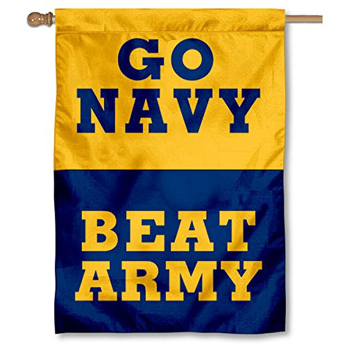 """College Flags and Banners Co. Navy Midshipmen Beat Army 28"""""""