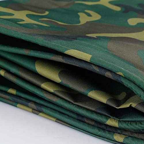 DLT Waterproof Camo Tarp, Camouflage/Green Vinyl Tarp, Multi Purpose Tarp Cover Grommets, Reinforced Edges, Durable, UV Resistant, for RV Truck and Trailers (Size : 6X8/19'x26')