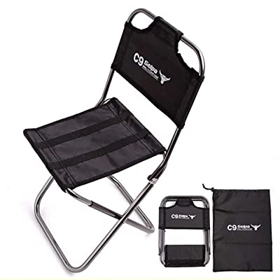 OutKeeper Outdoor Folding Chair Ultra Light Hiking Fishing Camping Chair : Sports & Outdoors
