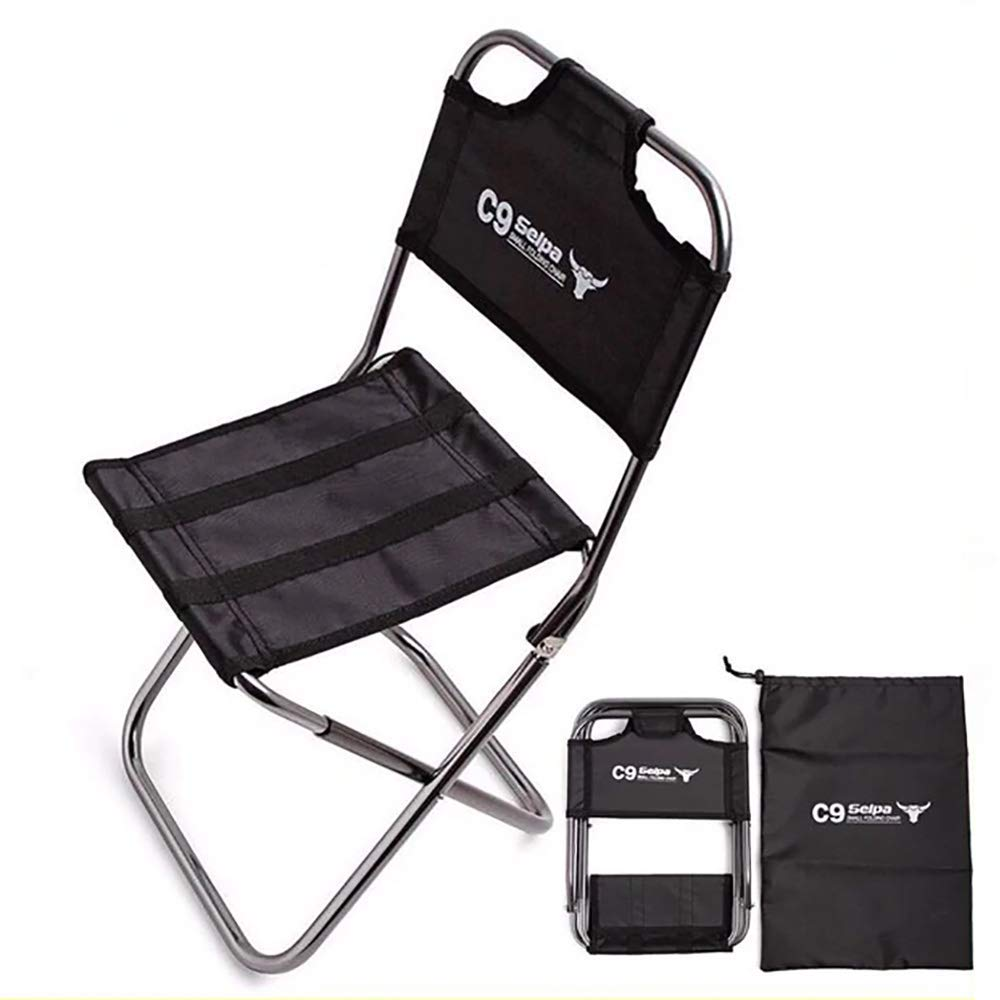 OutKeeper Outdoor Folding Chair Ultra Light Hiking Fishing Camping Chair