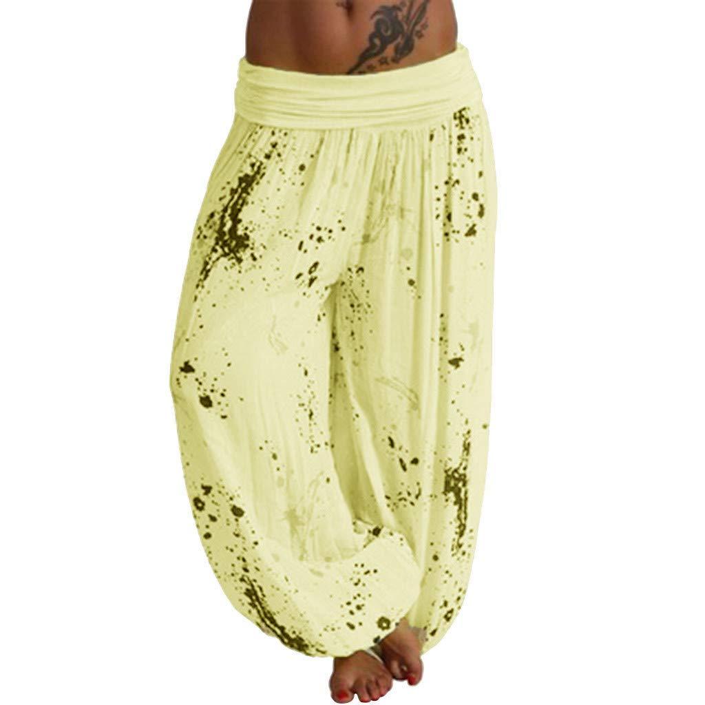 Darringls Pantalones Yoga Mujer, Pantalón con Veraniego ...