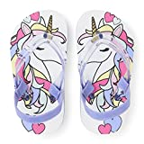 The Children's Place Kids' TG Unicrn FF Flat Sandal